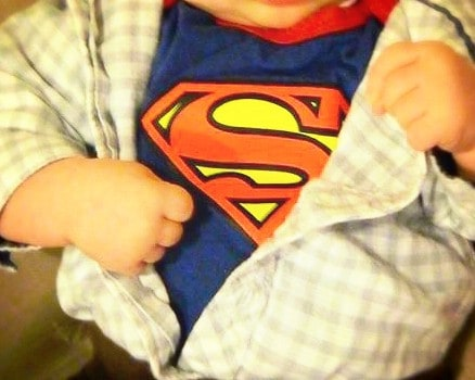 Baby Costume SuperMan