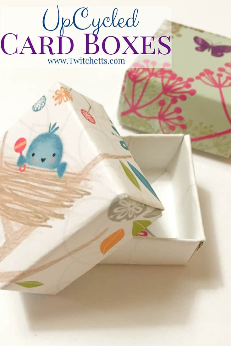 Upcycled greeting card boxes twitchetts upcycled greeting card boxes m4hsunfo