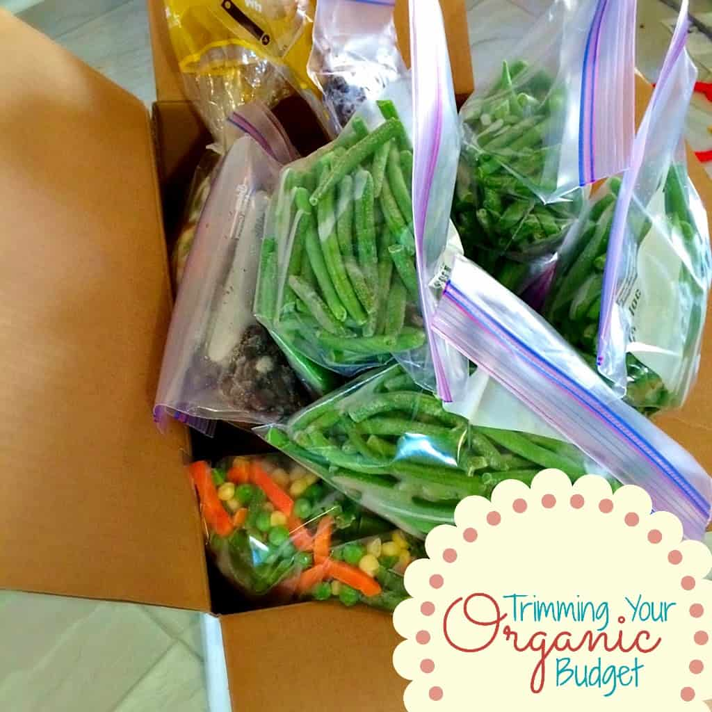 Trimming Your Organic Budget ~ Bulking up the Freezer