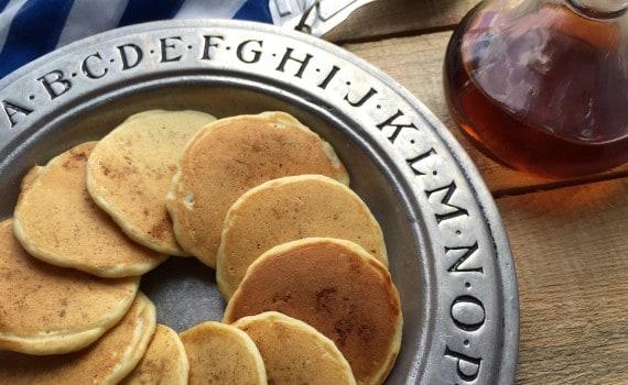 Clean Fingers Clean Tummies Mini Pancakes