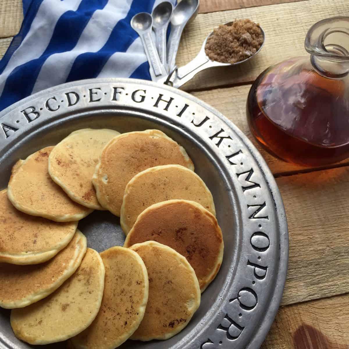 Clean Fingers Clean Tummies ~ Mini Pancakes