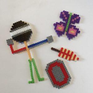 custom perler bead creations