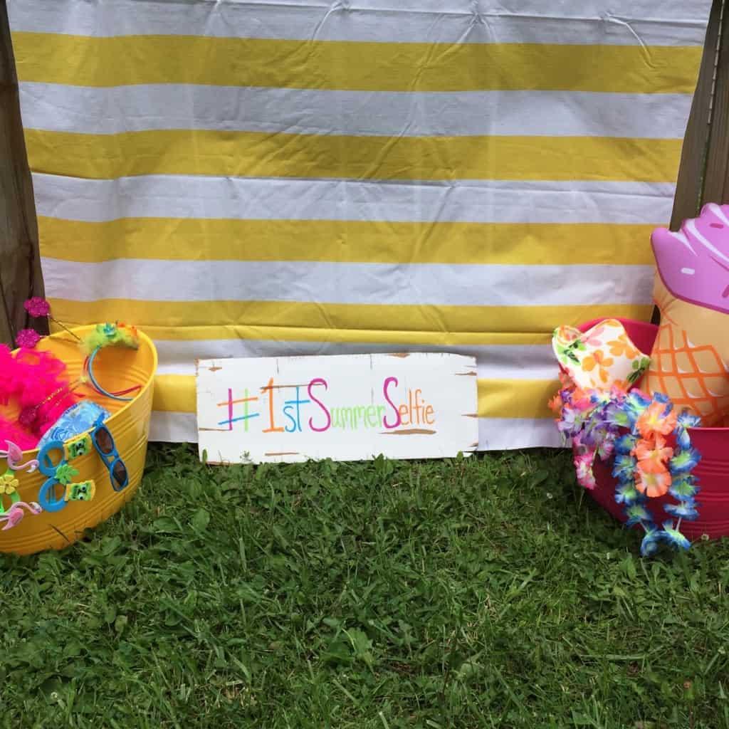 Summer Selfie Booth