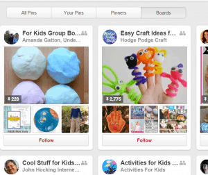 The Pin Project - Making the Most from Pinterest - Group Boards