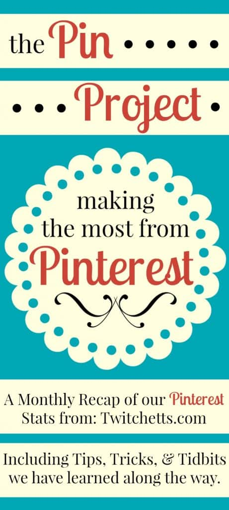 Twitchetts. The Pin Project - Making the Most from Pinterest - Tips and Tricks to get our Pinterest traffic up!