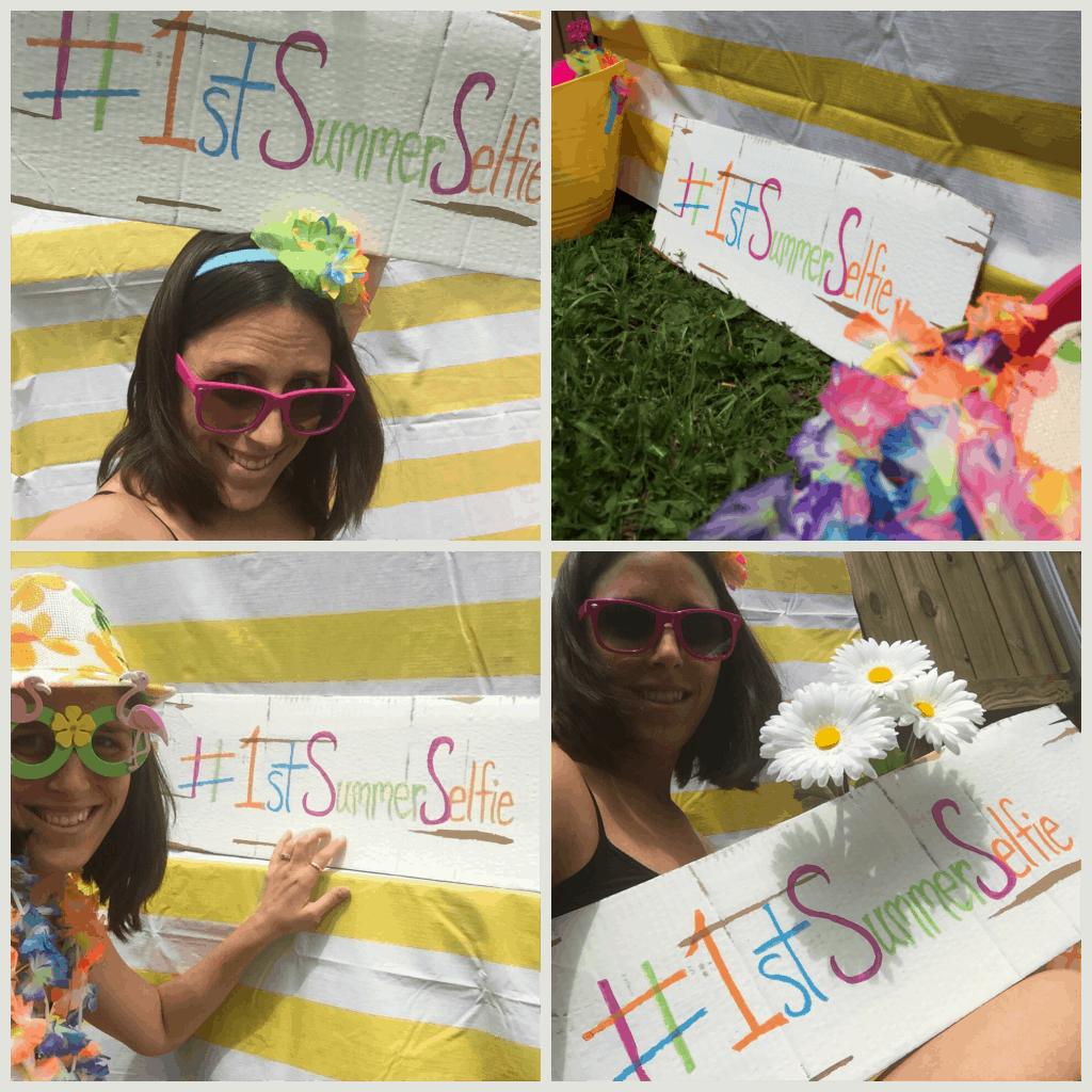 Summer Selfie Booth pics