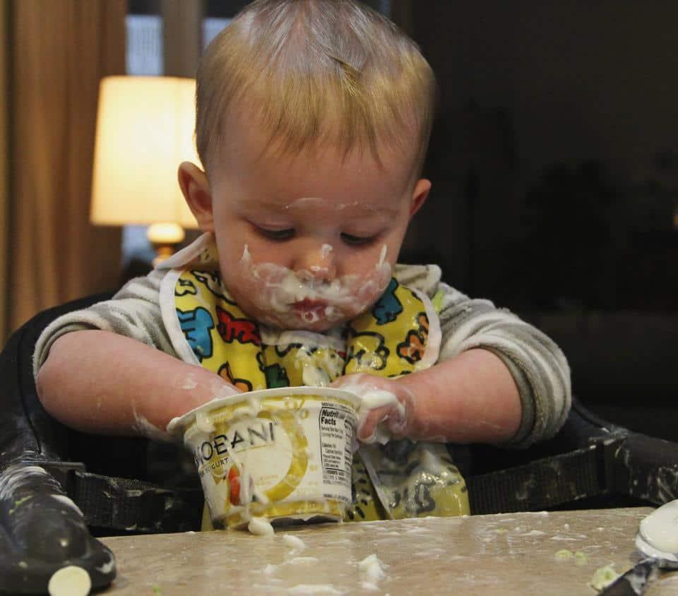 Monthly Mommy Moments ~ Toddler Tastebuds Yogurt