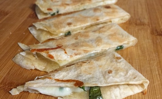 Waste Free Lunch Inspiration - Pizza Quesadillas