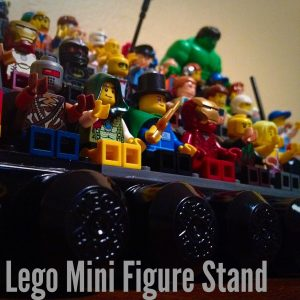 Get those Lego Men off the floor and onto a great Lego stand.