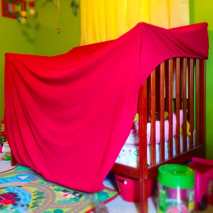 Three Forts in Five Minutes . Tips for building fun blanket forts for quick indoor fun.