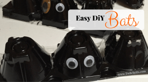 These easy Diy Bats are the perfect Halloween craft. Egg carton bats are always fun, but these have a special shine to them. These Halloween bats can fly inside or outside!