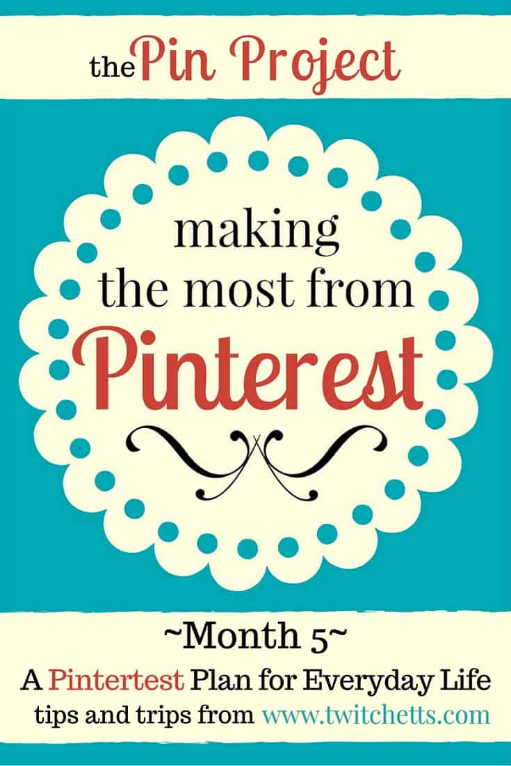 The Pin Project A Pinterest Plan for Everyday Life September 2015. Tips and Tricks for growing Pinterest.