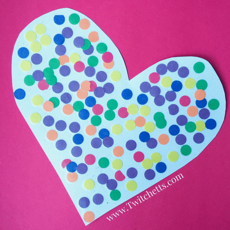 Make this fun Rainbow Dot Heart or these Rainbow Bookmarks are the perfect toddler craft. Teach color recognition, fine motor skills, and create a beautiful keepsake too!
