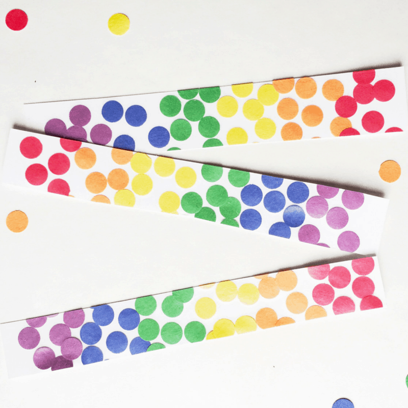 Rainbow Bookmarks – Construction Paper Crafts for Kids