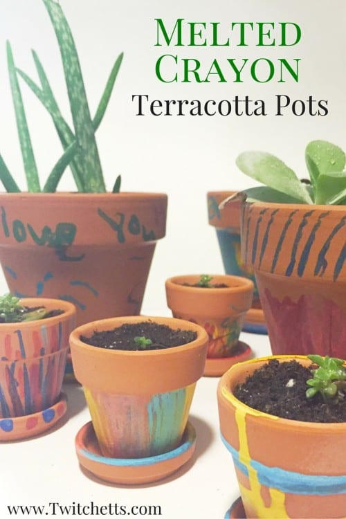 There are so many ways to make decorated terracotta pots. This kids craft is so much fun! Perfect as a homemade Mother's Day gift or birthday present.