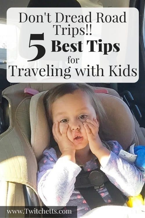 5 Best Tips for traveling with kids. From Toddlers to Teenagers a long car ride can be boring. Check out how we keep the wiggles at bay, and even have some fun on our road trip!
