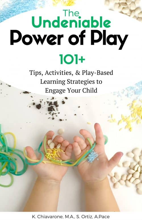 The Undeniable Power of Play gives you the ideas to facilitate play-based learning. From Sensory, Science, & Creative Activities. Learn how To teach your kids!