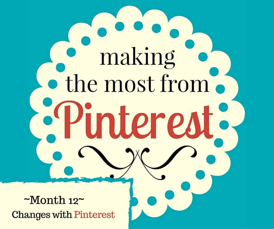 The Pin Project ~ Cha, Cha, Cha, Changes with Pinterest