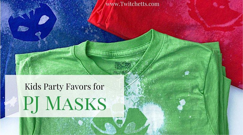 Kids party favors custom t shirts twitchetts for Diy custom t shirts