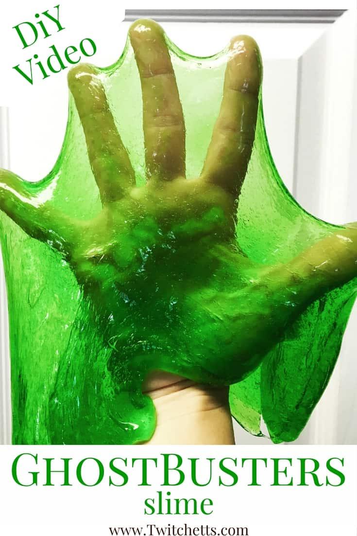 DiY Ghostbuster Slime Live Video