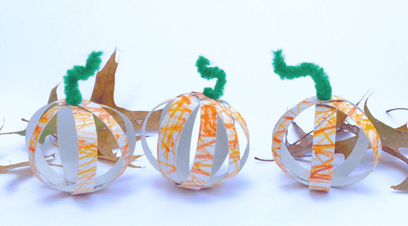 Toilet Paper Tube Pumpkins ~ A Fall Craft