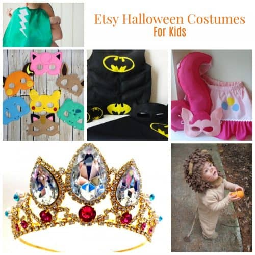 Etsy Handmade Halloween Costumes for kids, toddlers, and babies-If you don't have time to make your costumes, try buying your outfit from Etsy! These are handmade and perfect!