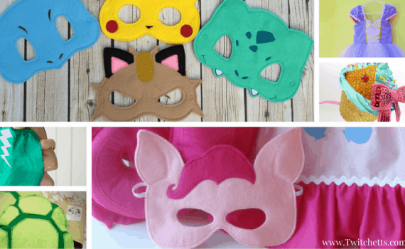 Handmade Halloween Costumes-If you don't have time to make your costumes, try buying your outfit from Etsy! These are handmade and perfect!