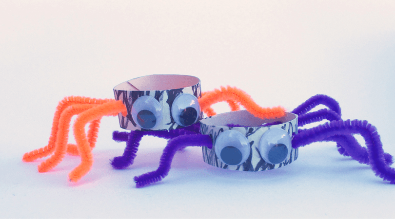 Fine Motor Spiders – A Fun Kid's Craft
