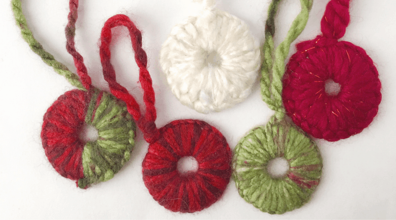 Washer Ornaments – Easy Homemade Decoration