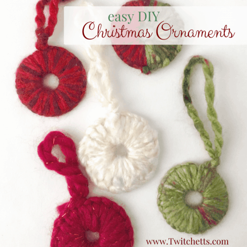 Make these easy Washer Ornaments this year with things around the house! Dig in the tool chest to make these easy Christmas decorations.