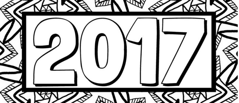 2017 new years eve pages coloring pages for New year coloring pages 2017