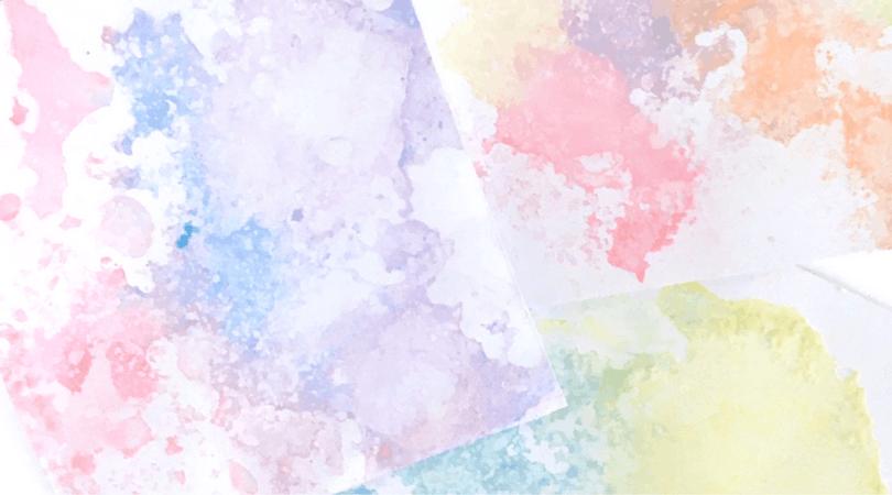 Colored Salt Snow Art – Winter Art for Kids