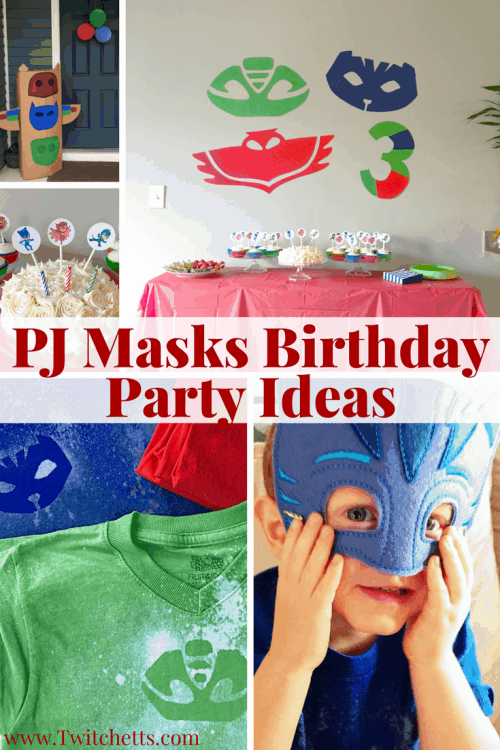 PJ Masks Birthday Party Ideas Roundup Twitchetts