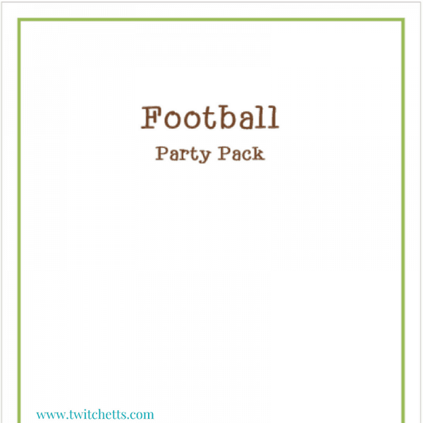 Paper Football Party Pack
