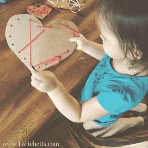 Check out all 6 of these easy Valentine's Day Activities for kids. From Valentine's Day crafts to fine motor activities you will find something for your little one to do for the holiday.