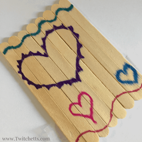 These homemade Valentines are a great non-candy Valentine for your little one to pass out! Don't for get to make a few for a Valentine's Day activity for your own kids to keep at home!