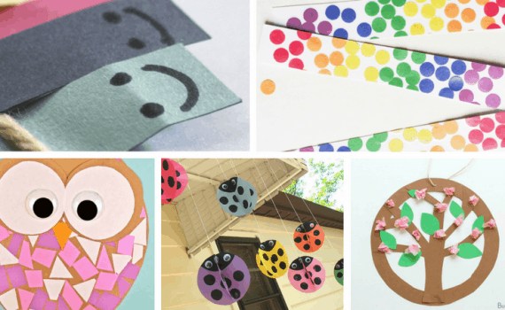 Construction Paper Crafts for kids. Get inspired with over 25 crafts and construction paper activities for children. Preschool through elementary.