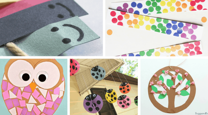25+ Construction Paper Crafts for Kids