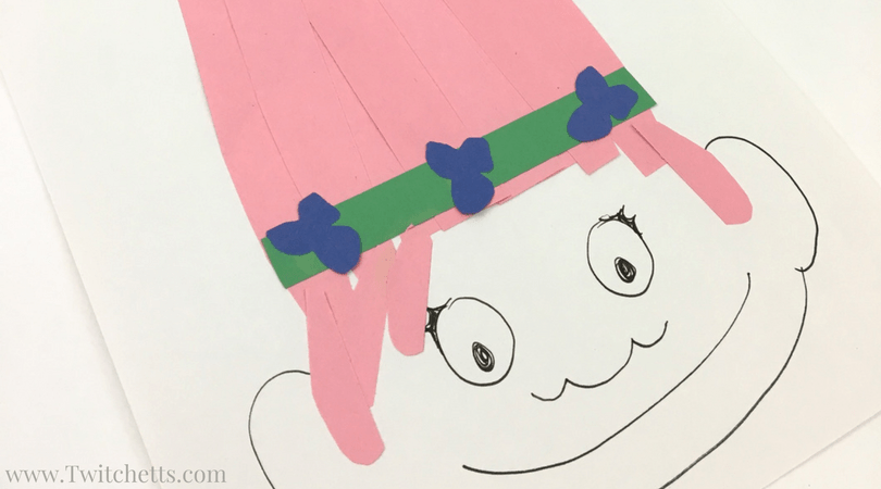 Watch this fun DIY paper Trolls video! This is a fun Trolls craft that you kids will enjoy!