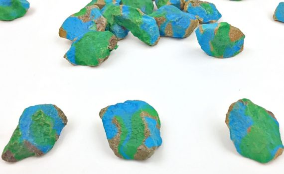 Stone painting is a great way to add earth day decorations to your class or home. Earth day for kids can be fun when painting on rocks!