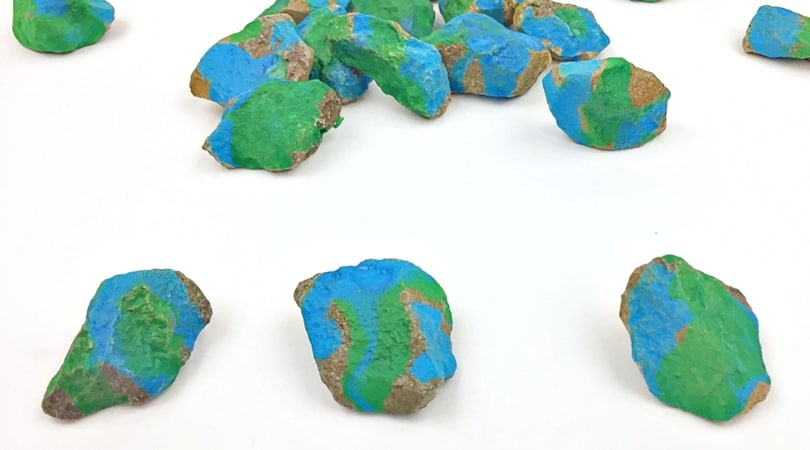 Earth Day for Kids ~ Stone Painting