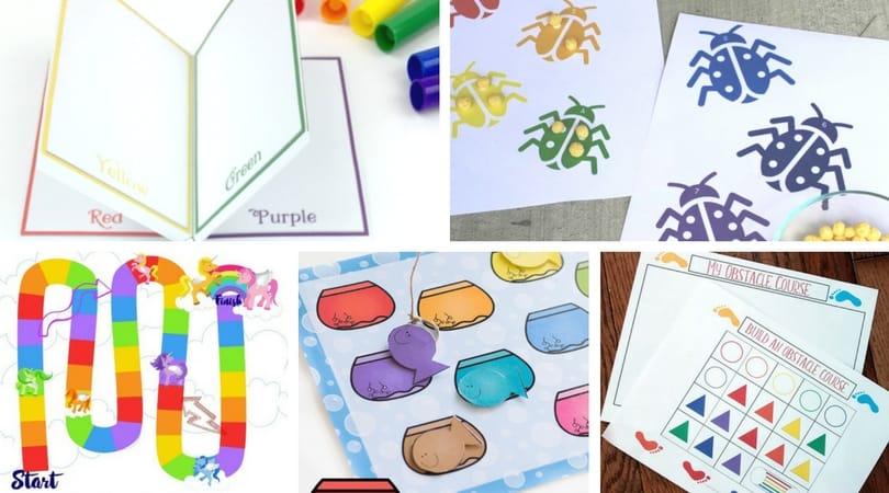 15 Rainbow Printables ~ Free Fun For Kids