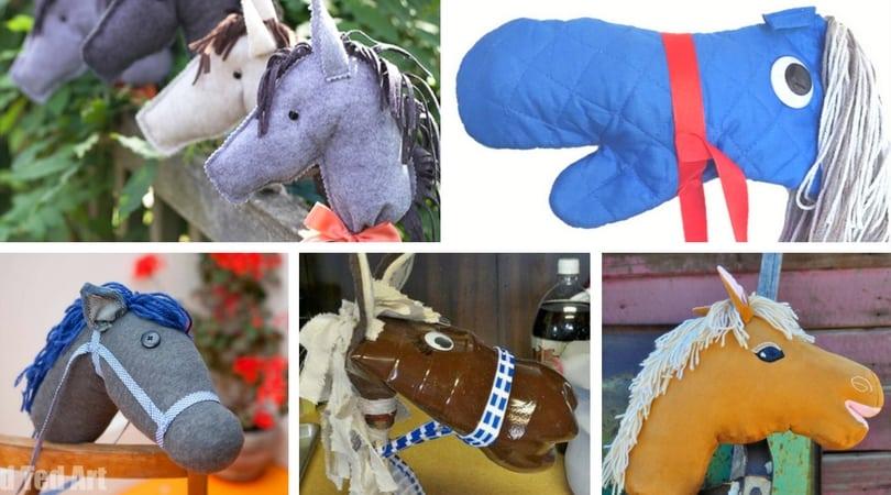 6 Stick Horse DIY Ideas
