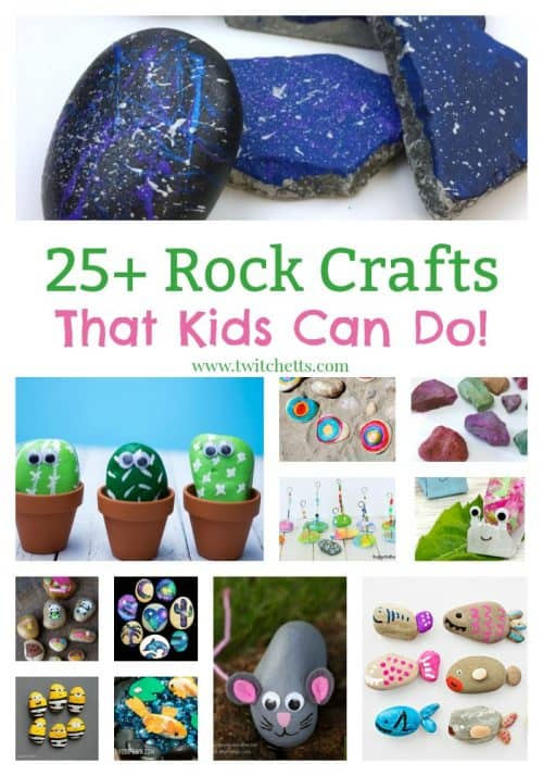 Over 25 Rock Crafts That Kids Can Create Stone Painting Art Projects Are Simple