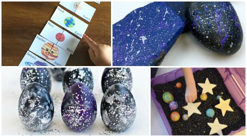 Space Theme Inspiration ~ Crafts, Activities, Printables and More!