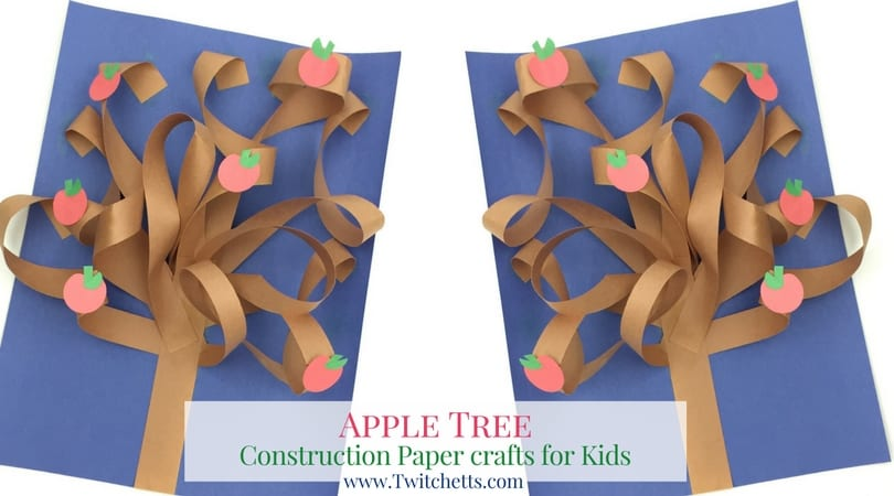 3d construction paper tree twitchetts for What does punch out mean in construction