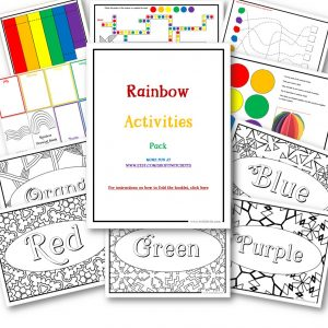 Rainbow Activity Pack