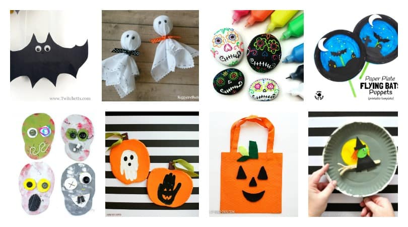 Halloween Crafts for Kids ~ Over 20 kids crafts to get you inspired!
