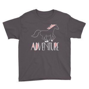 Pink Adventure Horse Short Sleeve T-Shirt