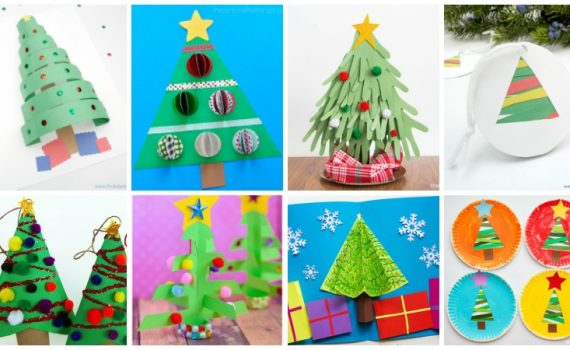 Twitchetts sisters inspiring you with realistic tips for Holiday crafts with construction paper